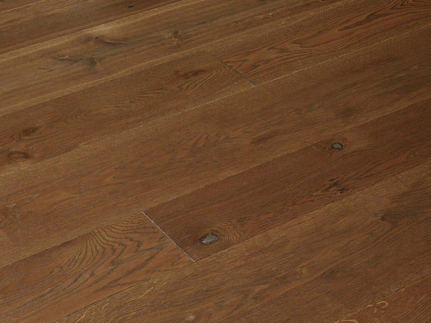 Brushed oak parquet FIOR DI RUBINO by FIEMME 3000