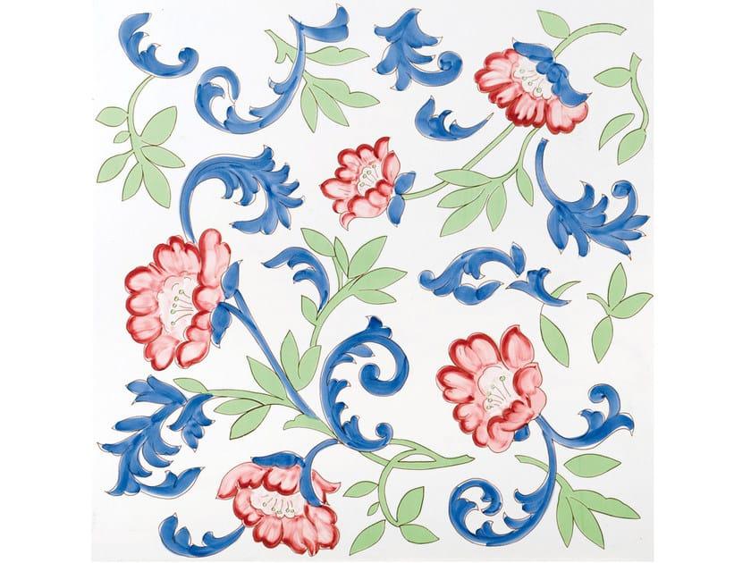 Ceramic wall tiles / flooring FIORI GRANDI TORVILLO by FRANCESCO DE MAIO