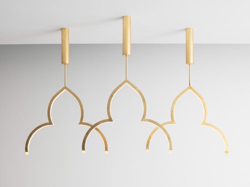 Lampada a sospensione a LED in alluminio FIORITO by Foris l'Origine delle Idee
