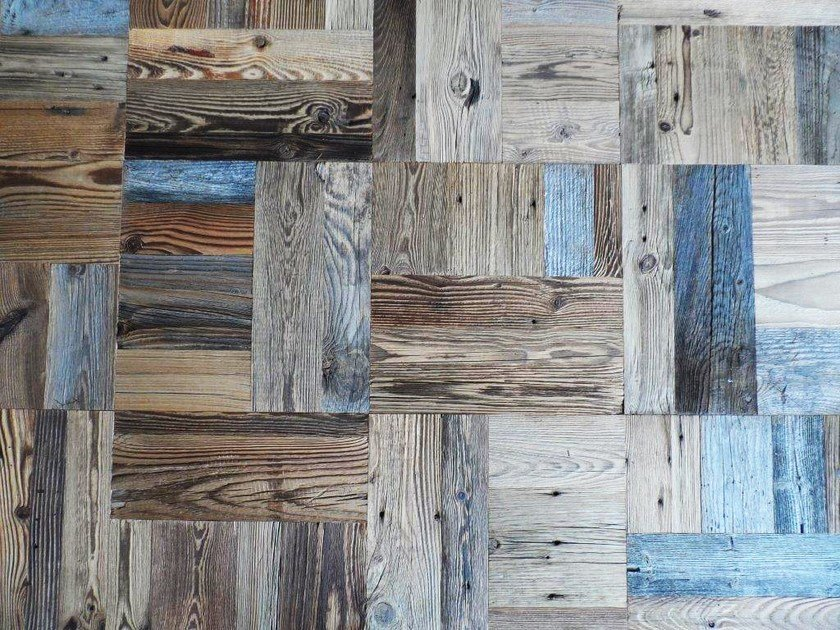 Wooden mosaic FIR MOSAIC original top layer by ANTICO TRENTINO