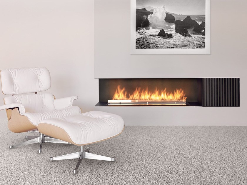 Smart fireplace insert with external fuel tank FIRE LINE AUTOMATIC XT by Planika