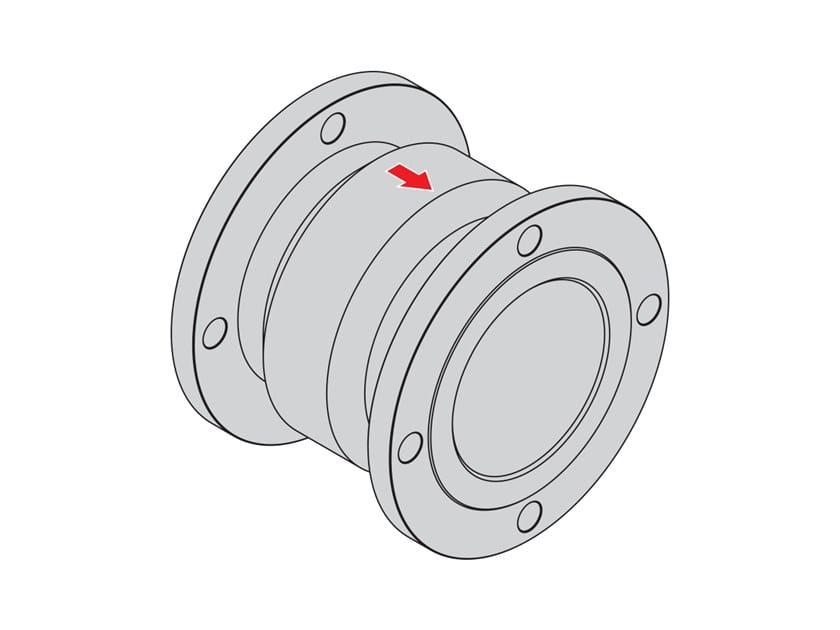 Fitting flanged version DIN EN 1092-1 FIREBAG® | Fitting flanged DIN EN 1092-1 by TECO