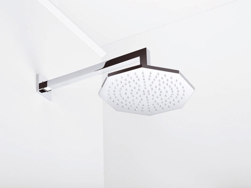 Wall-mounted overhead shower with arm FIRENZE 310/320A by RUBINETTERIE STELLA