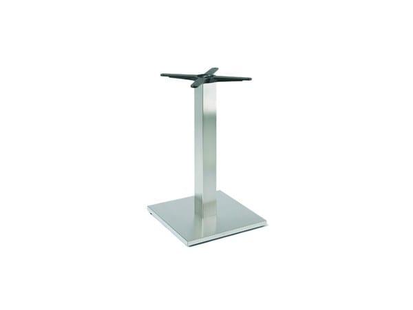 Steel table base FIRENZE 9015 by Montbel