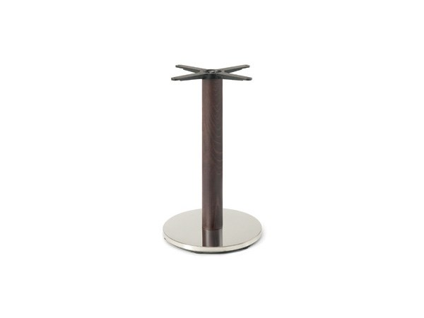 Steel and wood table base FIRENZE 9213 by Montbel