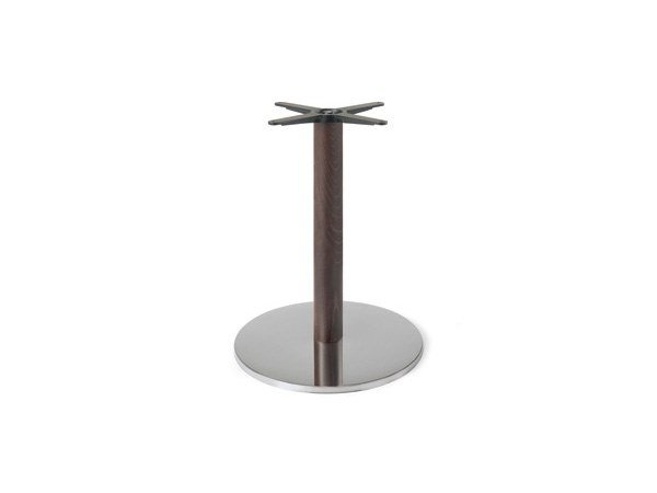 Steel and wood table base FIRENZE 9214 by Montbel