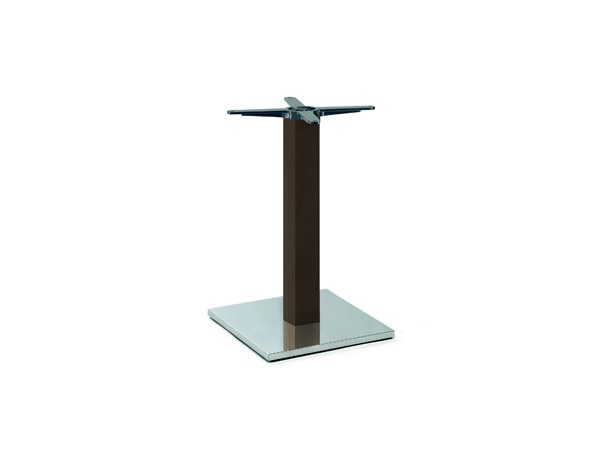 Steel and wood table base FIRENZE 9215 by Montbel