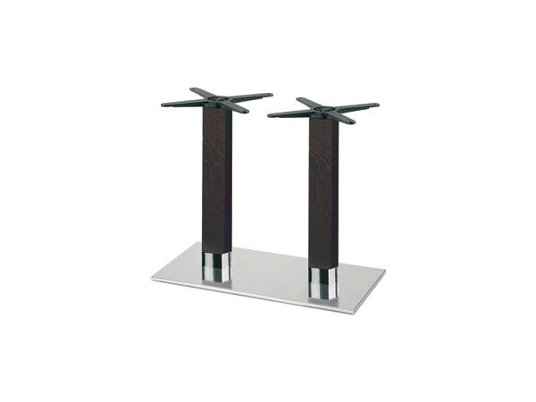 Steel and wood table base FIRENZE 9226 by Montbel
