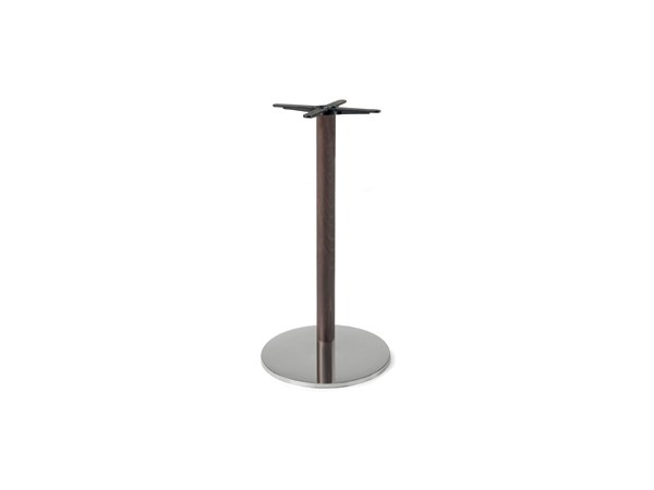 Steel and wood table base FIRENZE 9614 by Montbel