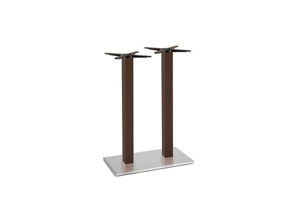 Steel and wood table base FIRENZE 9617 by Montbel
