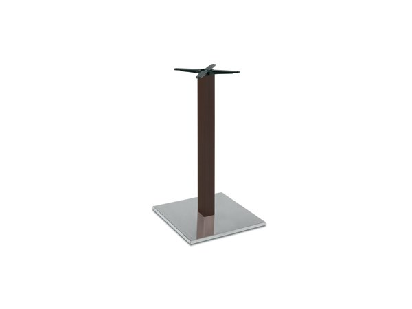 Steel and wood table base FIRENZE 9618 by Montbel