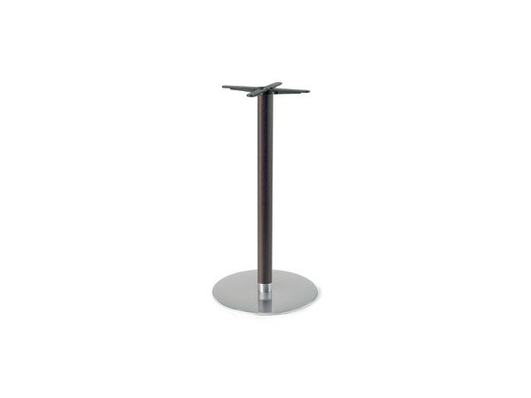 Steel and wood table base FIRENZE 9620 by Montbel