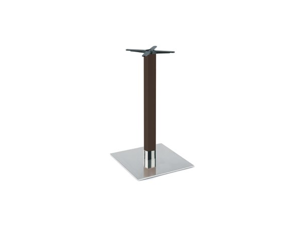Steel and wood table base FIRENZE 9625 by Montbel