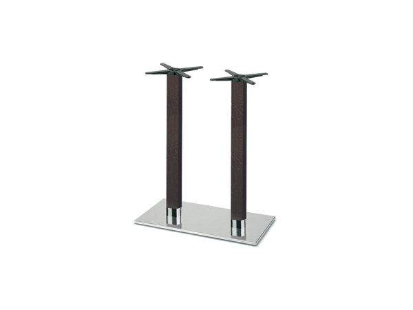 Steel and wood table base FIRENZE 9626 by Montbel