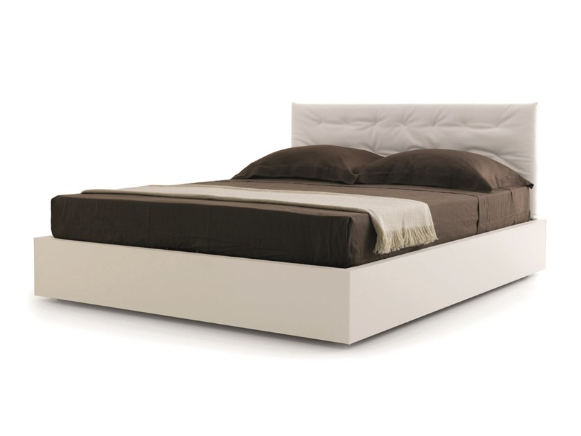 Letto Contenitore Matrimoniale Senza Testiera : Minimal letto con ruote collezione minimal by zalf