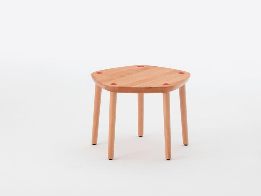 Maple stool FIVE ONE POINT | Maple stool by MEETEE