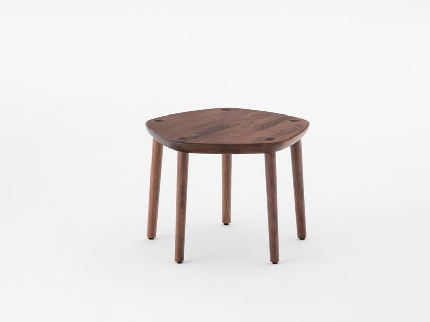Walnut stool FIVE | Walnut stool by MEETEE
