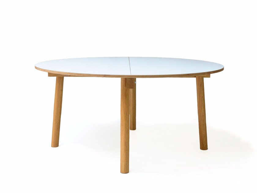 Round wooden table FIX YOUR TABLE | Round table by Moca