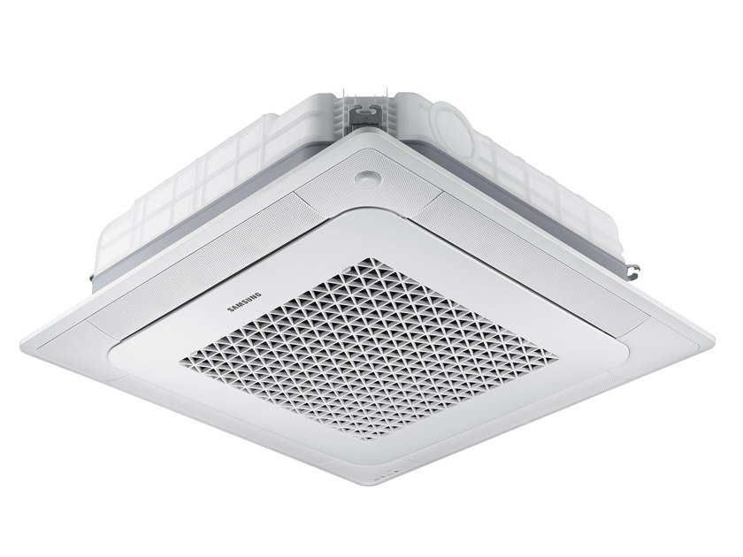 Cassette ceiling mounted residential Multi-split air conditioning unit FJM - 4 ways cassette MINI WINDFREE by Samsung Climate Solutions