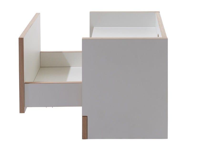 Möbelwerkstätten Rettangolare Müller FlaiComodino In Multistrato ON0wyvm8n