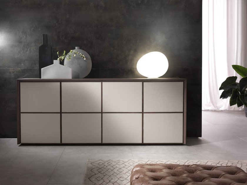 Sideboard with doors FLAIR | Cimento® sideboard by Pacini & Cappellini