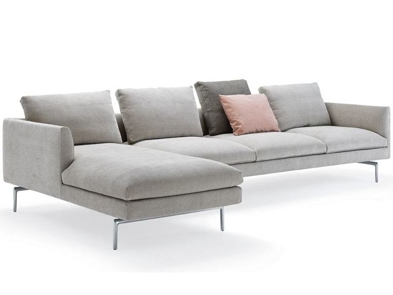 Sectional sofa with removable cover FLAMINGO | Sectional sofa by Zanotta