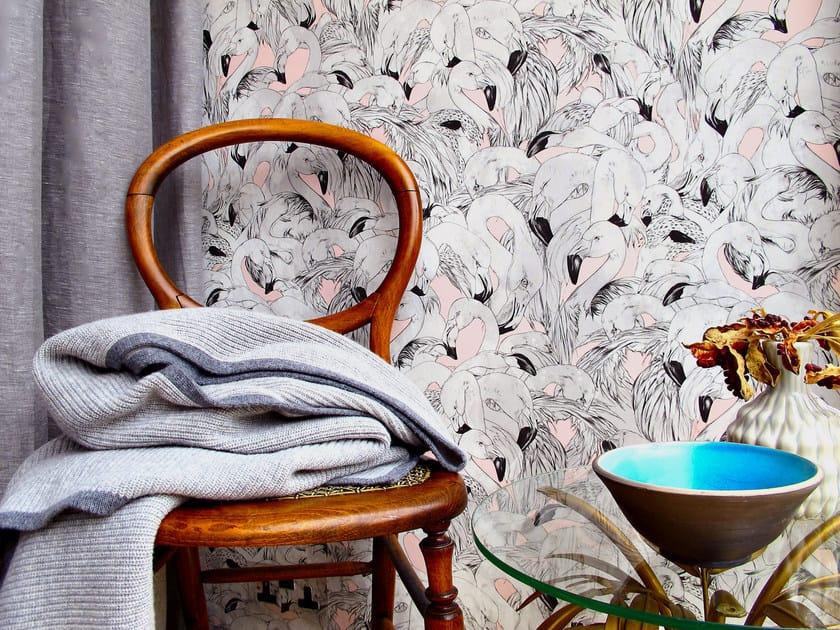 Motif wallpaper FLAMINGO by 17 patterns