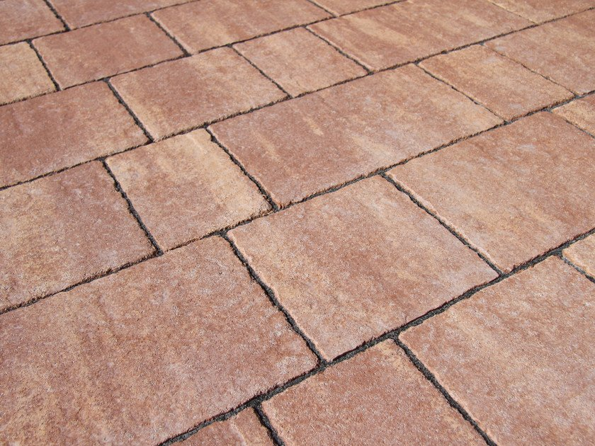 Concrete paving block FLAMINIA by PAVESMAC