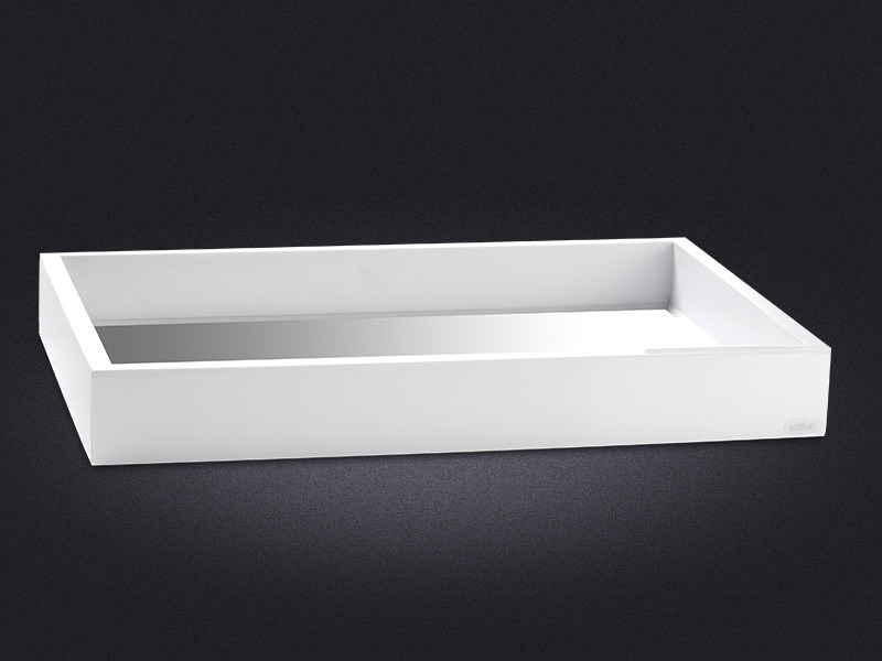 Rectangular resin tray FLAP   Rectangular tray by Vallvé