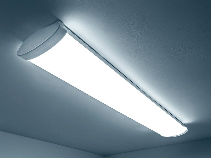 Plafoniere Soffitto Industrial : Plafoniera industriale a led in pmma flash by plexiform