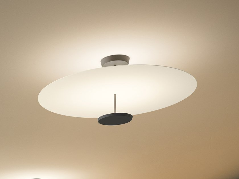 LED metal ceiling lamp FLAT 5915   Ceiling lamp by Vibia