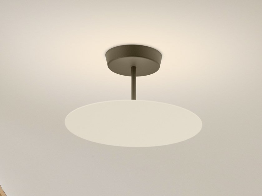 LED metal ceiling lamp FLAT 5920 | Ceiling lamp by Vibia