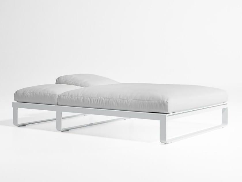 Double recliner garden bed FLAT | Garden bed by GANDIA BLASCO