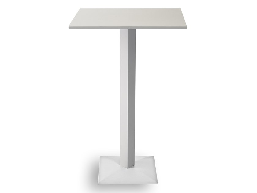 Square high table FLAT HIGH | Square table by Garden Tech