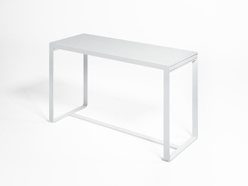 Thermo lacquered aluminium high table FLAT | Contract table by GANDIA BLASCO