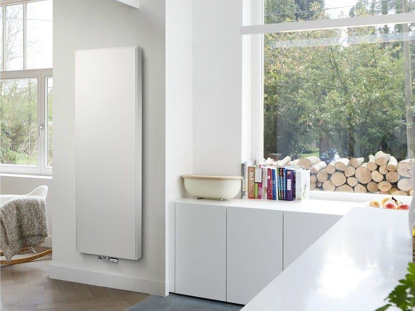 Vertical steel decorative radiator FLAT LINE VERTICAL by VASCO