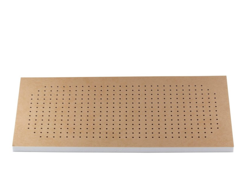 Polyurethane foam decorative acoustical panel FLAT PANEL PRO TECH by Vicoustic by Exhibo