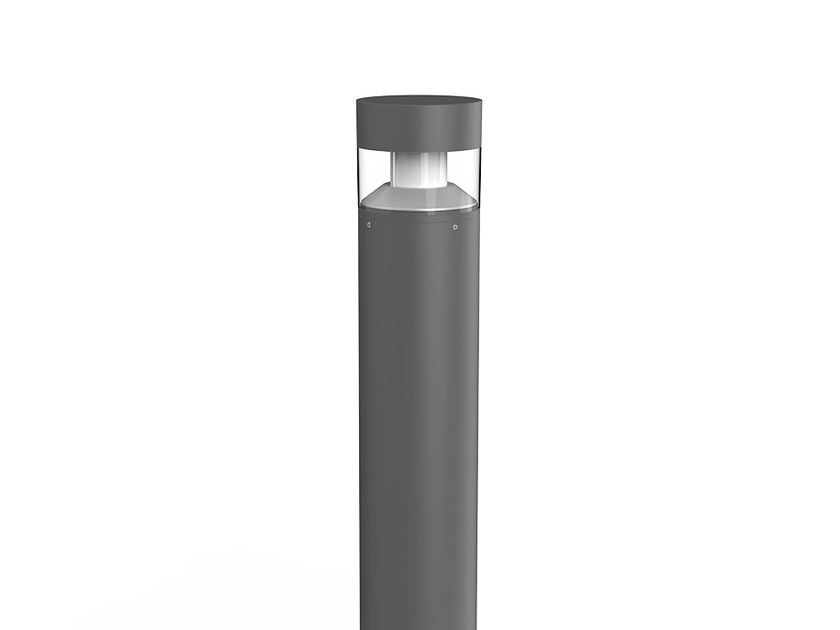 LED aluminium bollard light FLAT Q by LANZINI