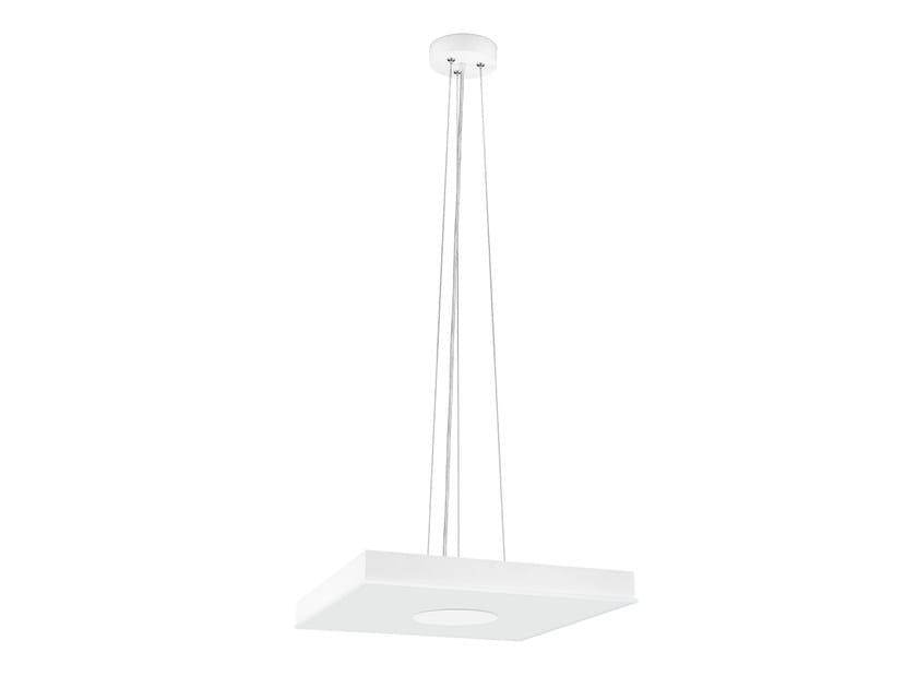 Steel pendant lamp FLAT SQUARE | Pendant lamp by ONOK Lighting