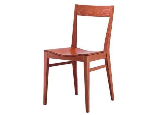 Beech chair FLECTA by Cizeta L'Abbate