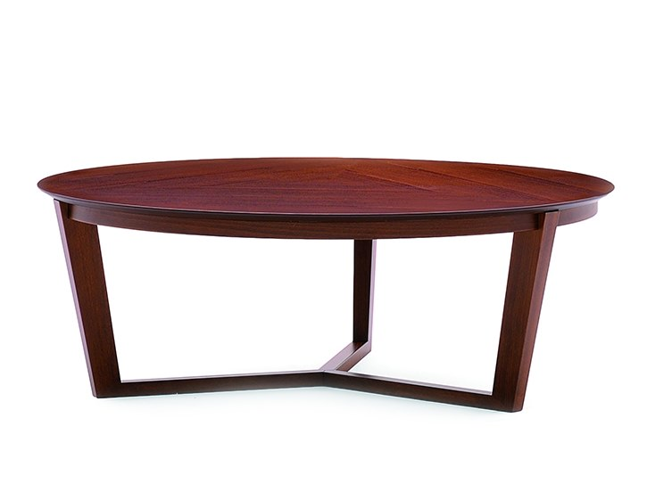 Low round coffee table FLEN 905L by Montbel