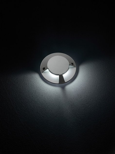 LED walkover light die cast aluminium steplight FLEX.C F.8212 by Francesconi & C.