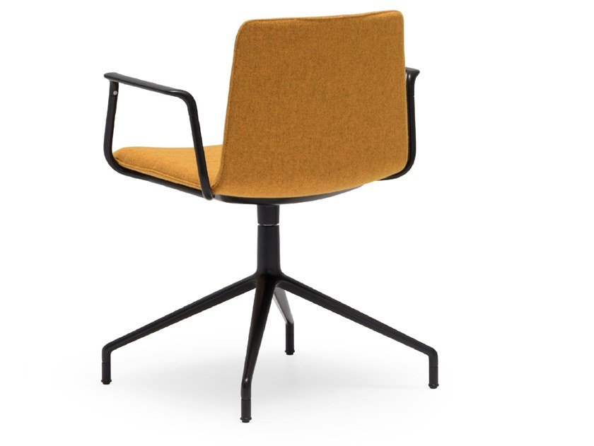 Swivel chair with armrests FLEX CHAIR SO1305 by Andreu World