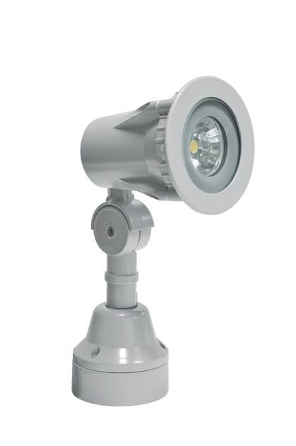 LED aluminium Outdoor floodlight FLEX F.4022 by Francesconi & C.