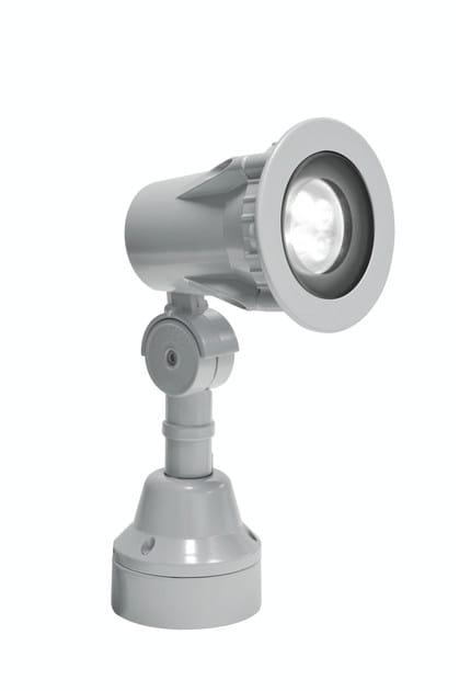 LED aluminium Outdoor floodlight FLEX F.4025 by Francesconi & C.