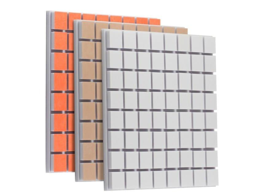 Foam decorative acoustical panel FLEXI A40 TECH PREMIUM by Vicoustic by Exhibo