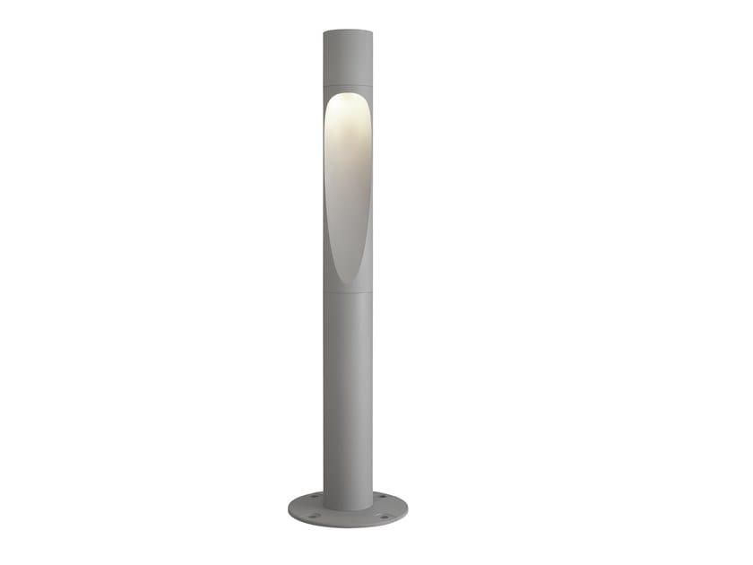 LED aluminium bollard light FLINDT | Bollard light by Louis Poulsen