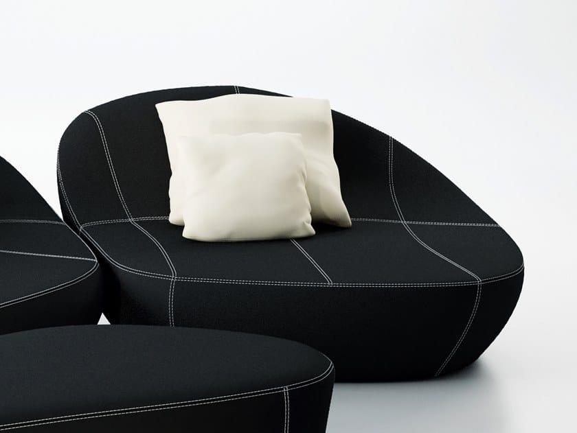 Leather armchair FLIRTSTONES by spHaus
