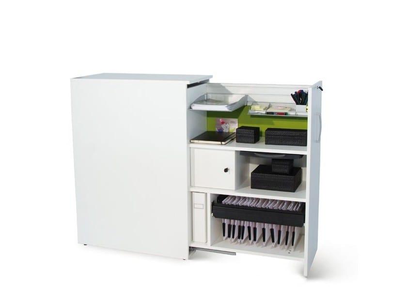 Office storage unit FLOAT_FX   Office storage unit by Wiesner-Hager