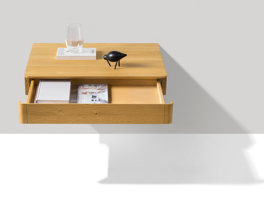 FLOAT Wallmounted bedside table Float Collection By TEAM 7